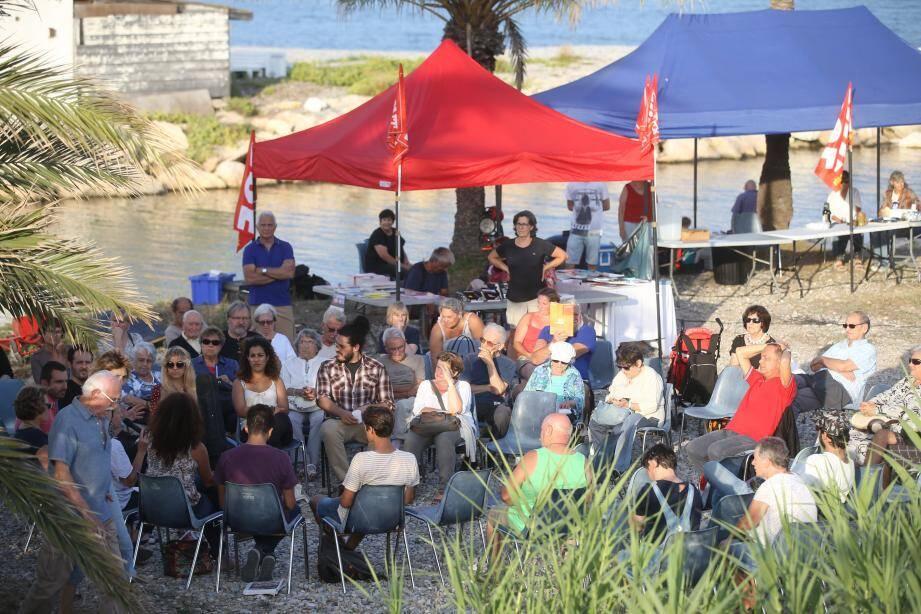 La 29e fête de la Mer, à Antibes, a une nouvelle fois marqué la rentrée politique du parti communiste dans le département.