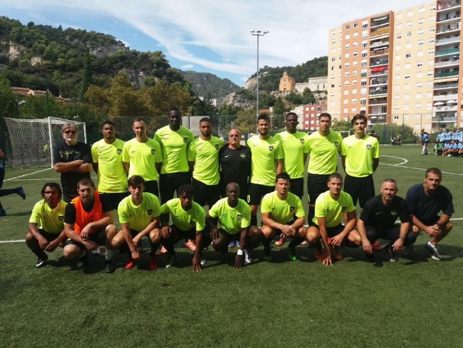 Dimanche dernier (ci-dessus), l'USCA s'est qualifiée pour le 3e tour de la Coupe de France grâce à sa victoire à Saint-André (4-0).