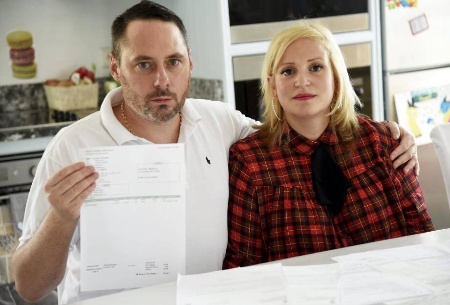 Ornella et Grégory Pantar ont souhaité témoigner pour que ce qu'ils ont vécu n'arrive pas à d'autres parents.