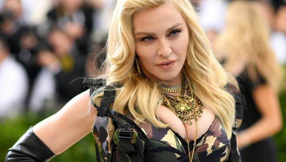 Madonna, ici à New York, le 1er mai 2018.