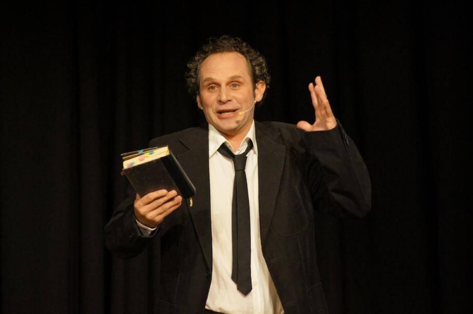 Christian Guérin, directeur de la Cie Jacques Biagini, va transformer le cinéma de Beaulieu en théâtre.(DR)