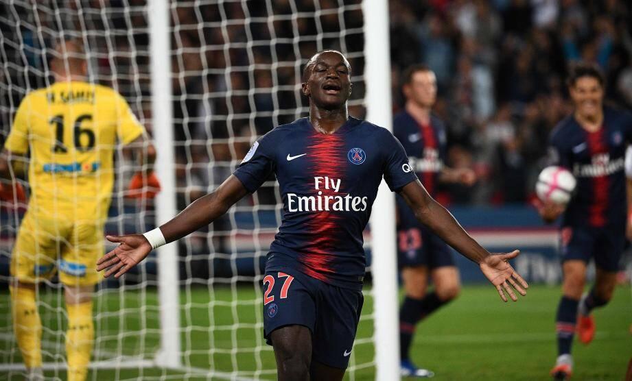 Formé au club Moussa Diaby a marqué le dernier but du PSG.