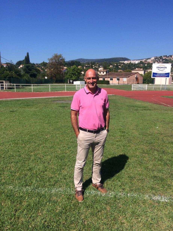Olivier Brero, nouveau directeur du service des sports et de l'événementiel de Grasse.