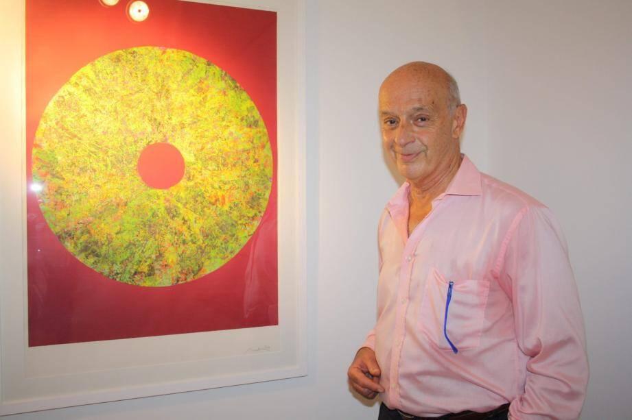 Robert Einbeck, ami, notamment de Dali, présente ses Moments de sérénité à l'espace Verdet.