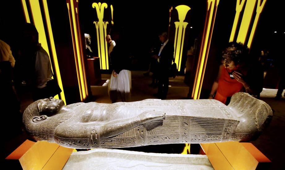 Les trésors d'Égypte dévoilés cet été ont visiblement conquis les amateurs d'histoire.