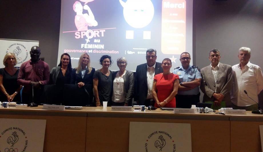 Que ce soit au niveau départemental, régional ou national, de nombreuses actions sont menées pour qu'il y ait une réelle égalité entre les hommes et les femmes dans le sport. (DR)