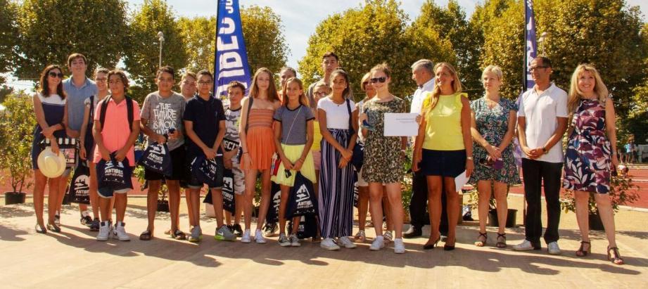 21 collégiens ont participé au projet primé lors de la dernière Fête de la jeunesse et des sports.DR