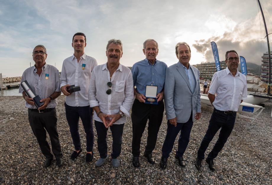 Joseph Gagliardi, Anthony Malvault, Ghislain Poulain, Francis Truchi, Patrick Césari et Marcel Camo.
