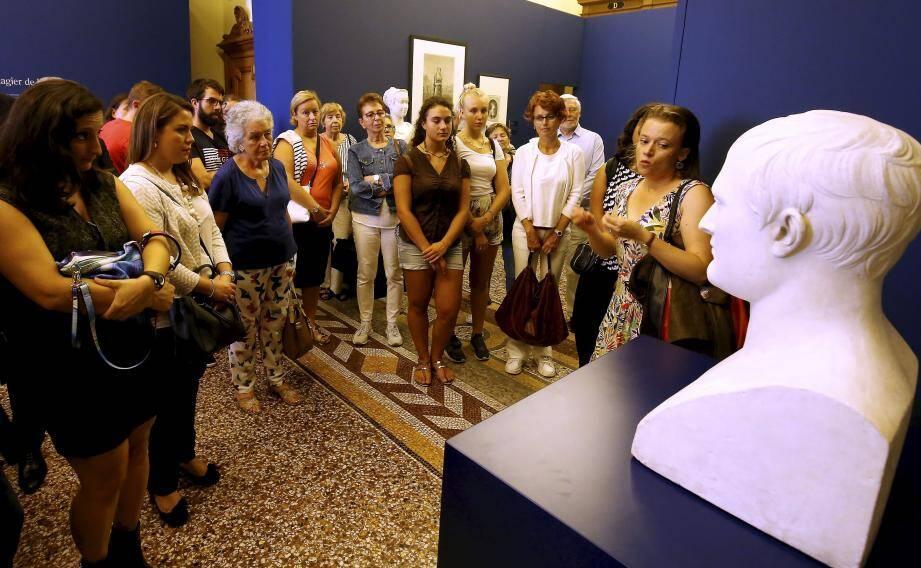 Certains lieux, comme le musée du timbre, ont crée la surprise en attirant plus de 900 visiteurs.