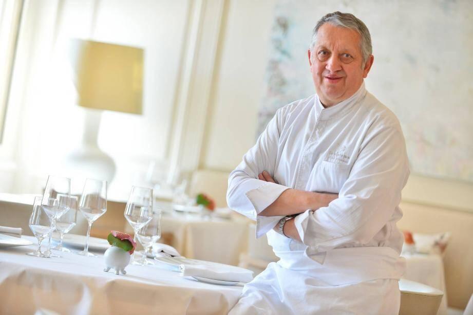 Le chef étoilé Joël Garault sera en cuisine avec les élèves du lycée Paul-Valéry.