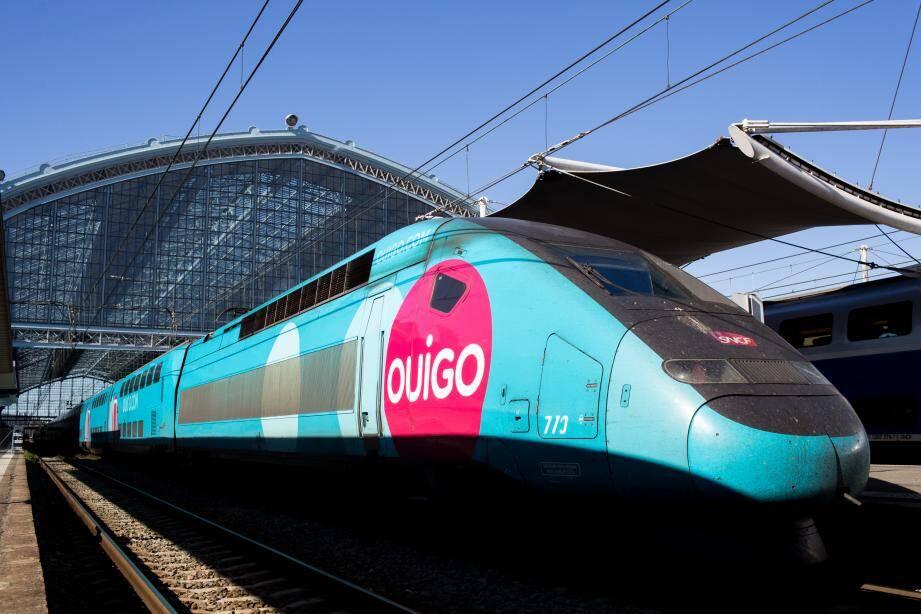 Un TGV Ouigo