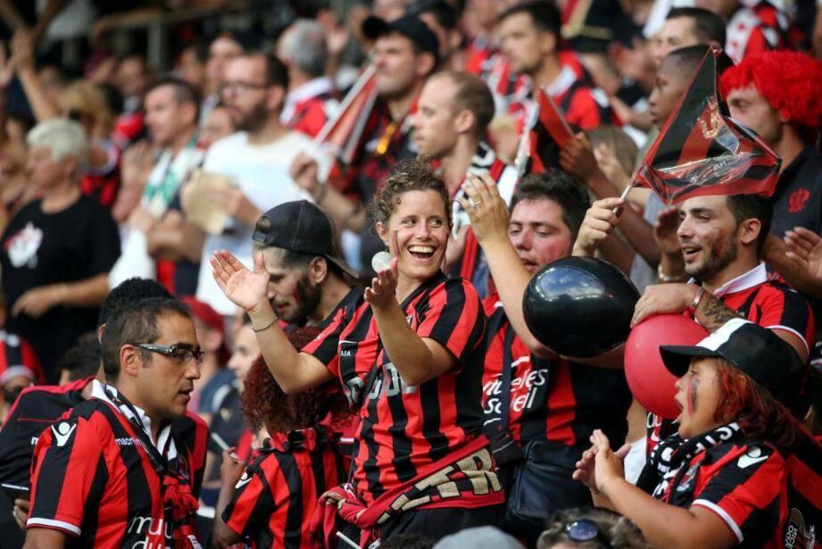 Supporters de l'OGC Nice