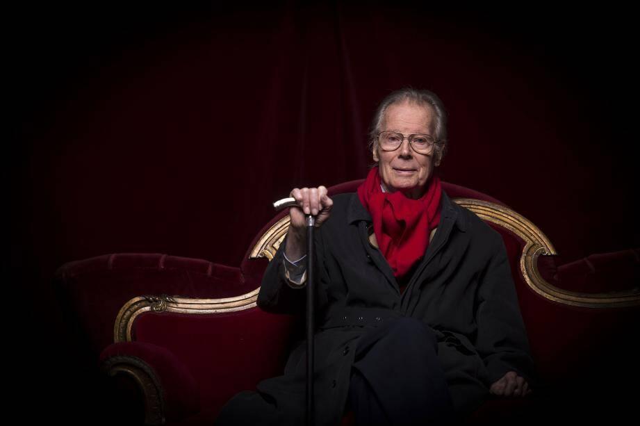 Jean Piat en 2016 à Paris.