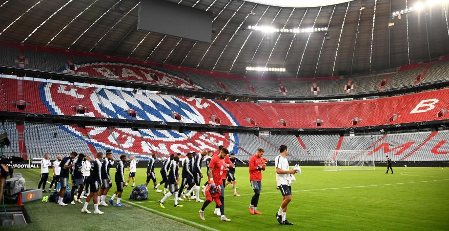 Dans le cadre de l'Allianz Arena de Munich, les champions du monde sont très attendus ce jeudi soir.
