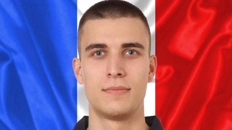 Geoffroy Henry, le jeune pompier de 27 ans tué lors d'une intervention.
