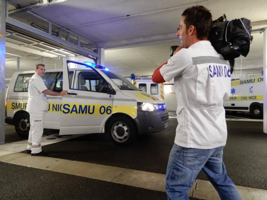 Caméra en main, Benoît Ruiz a partagé cinq mois du quotidien des secouristes.