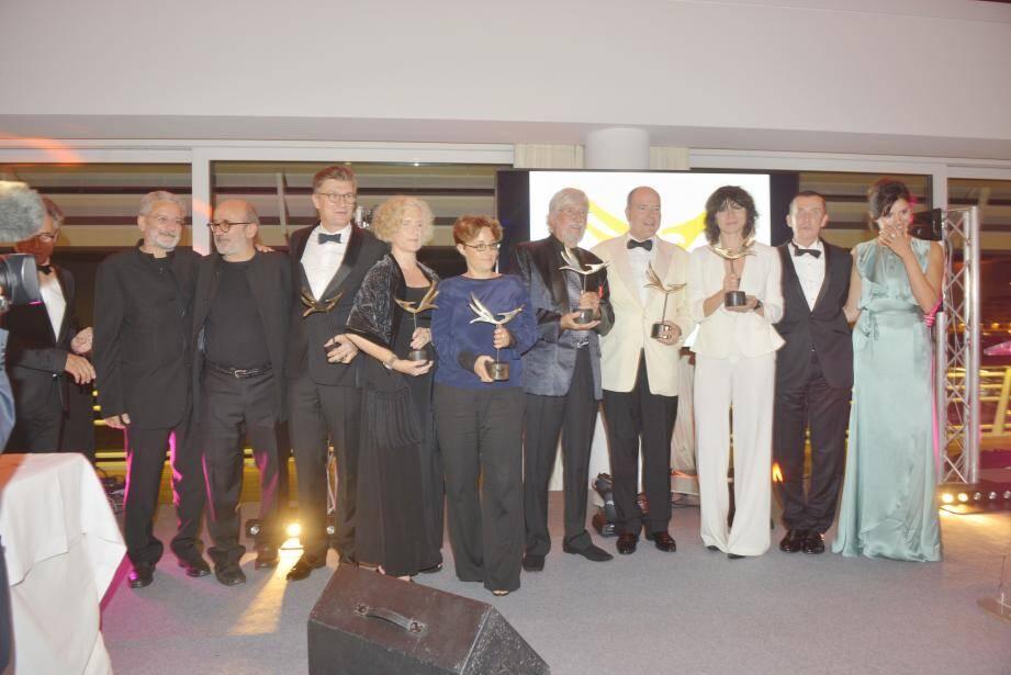Les lauréats du 3e Monaco Better World Forum.