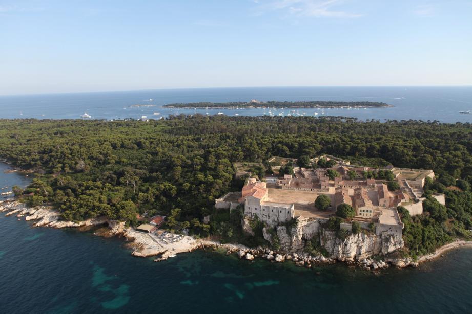 Vue de l'île Sainte-Marguerite