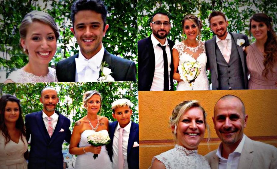 Quatre couples se sont unis en mairie de Nice, ce week-end