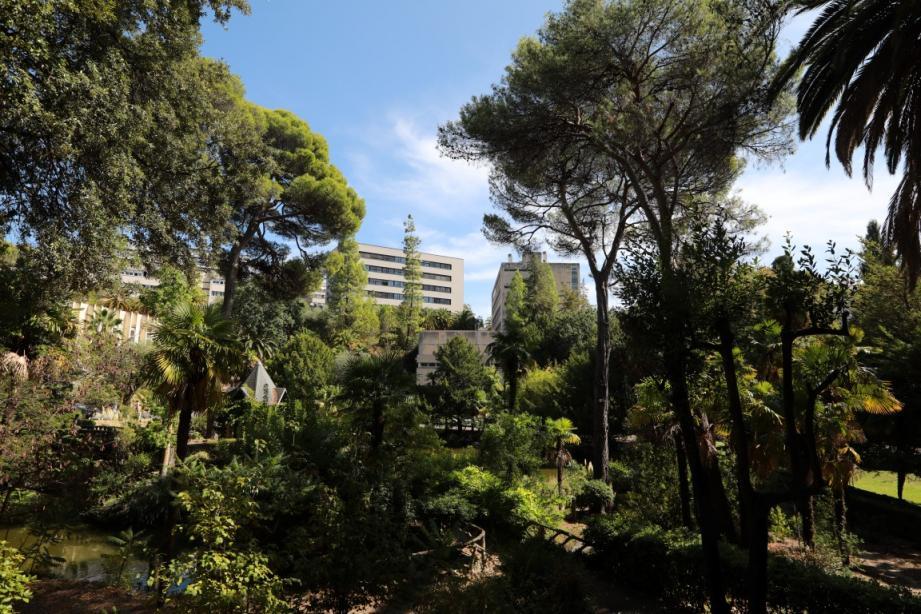 Le siège de l'Université Côte d'Azur à Nice-Valrose.