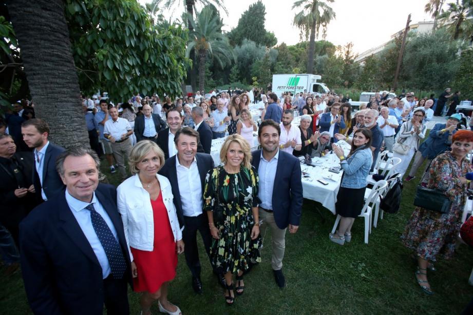 Valérie Pécresse invitée du Festin Nissart des amis du Maire de Nice Christian Estrosi.