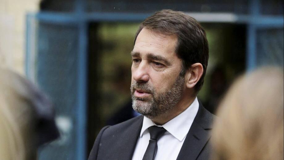 Christophe Castaner à Draguignan, le 20 janvier 2018