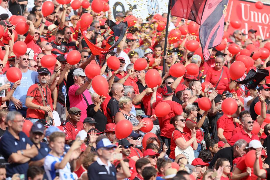 Les supporters du RCT au Stade Mayol.