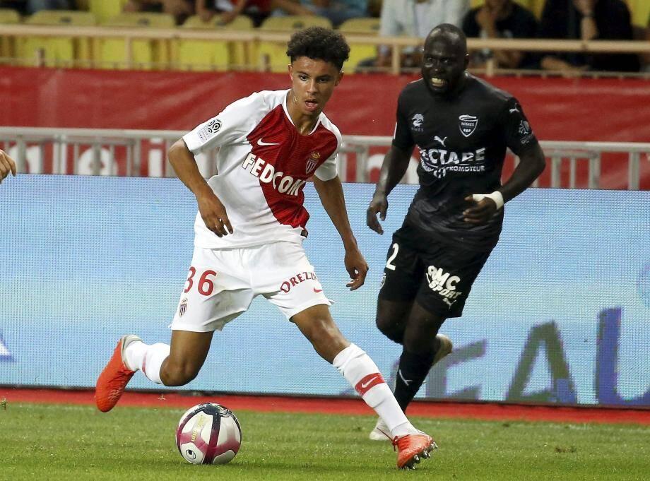 Le jeune Sofiane Diop était titulaire lors du match contre Nîmes.