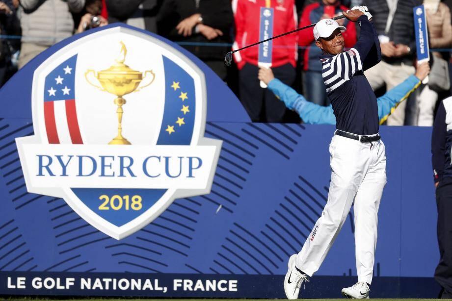 Tiger Woods et les Américains rêvent de remporter la Ryder Cup en Europe.
