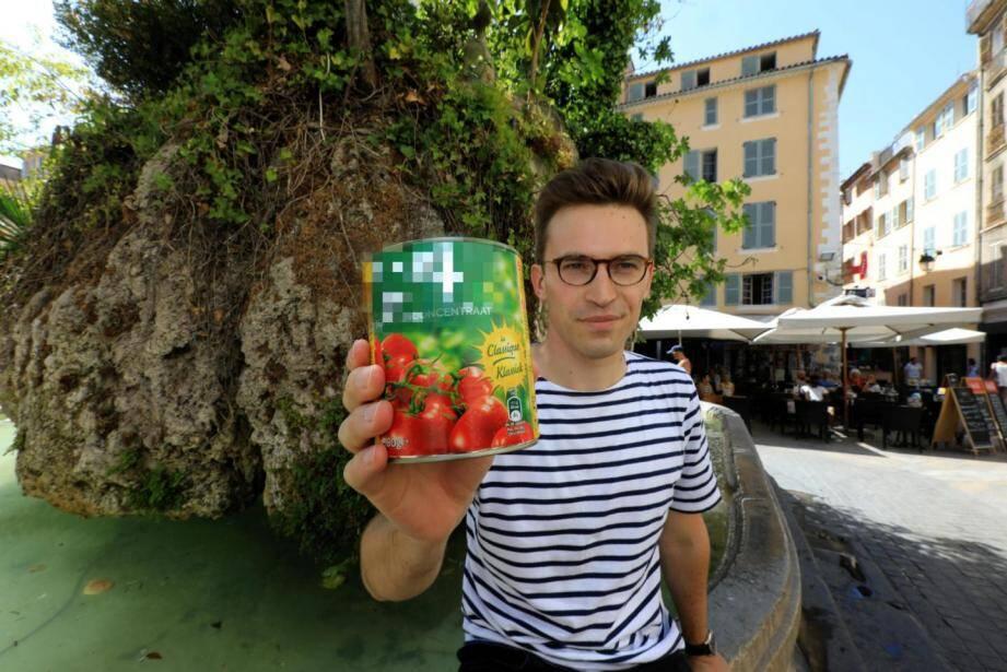 Jean-Baptiste Malet s'intéressais dans son livre à la tomate industrielle.