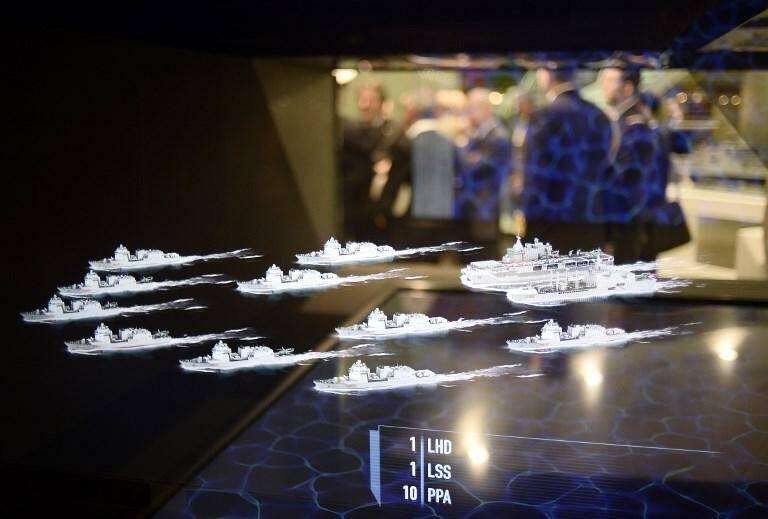 Le salon Euronaval  consacré au secteur naval de défense, ici en 2018, débute ce lundi, en numérique.