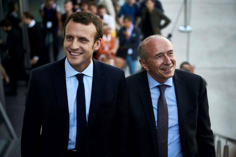 Emmanuel Macron ne veut pas laisser partir Gérard Collomb.