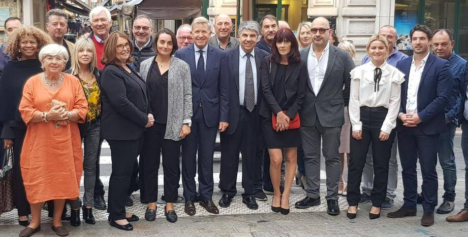 Les membres élus de l'UDI dans les Alpes-Maritimes.