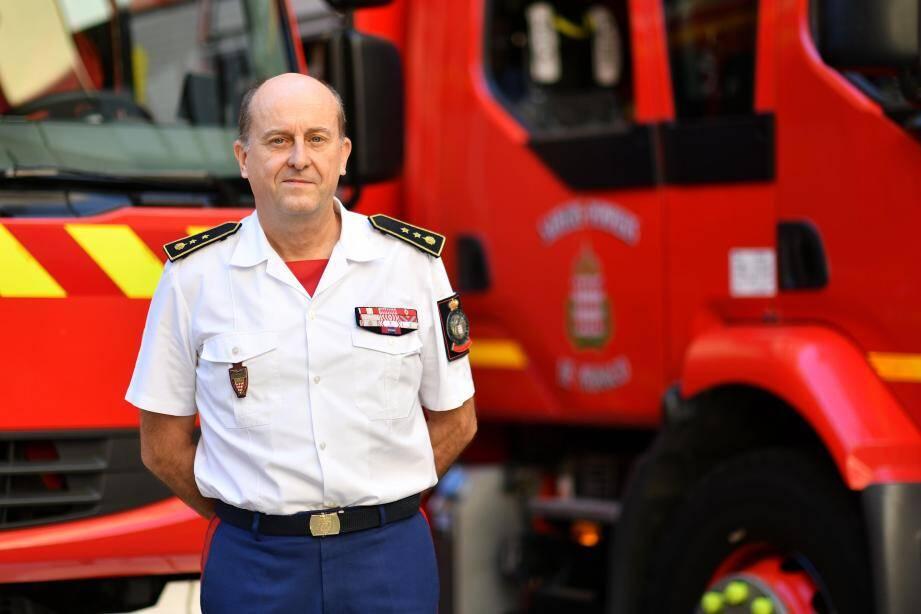 Le lieutenant-colonel Norbert Fassiaux est entré dans la compagnie des sapeurs-pompiers en 1983.
