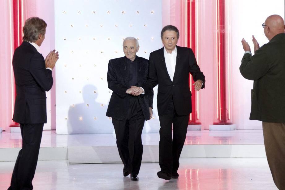 Pour les 80 ans d'Aznavour, Michel Drucker lui avait consacré une émission.