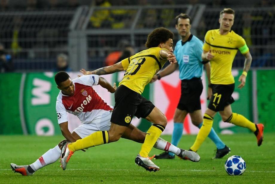 Les Monégasques ont été largement dominés après la pause par une équipe de Dortmund plus en jambes.