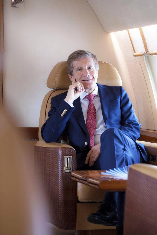L'ancien pilote automobile belge, gestionnaire d'une société d'avions d'affaire, sera ce soir juré à la Salle Garnier. (DR)