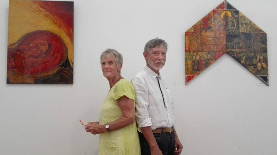Verena et Rémy Jullien exposent en duo leurs laques traditionnelles, deux styles, deux explorations à découvrir.