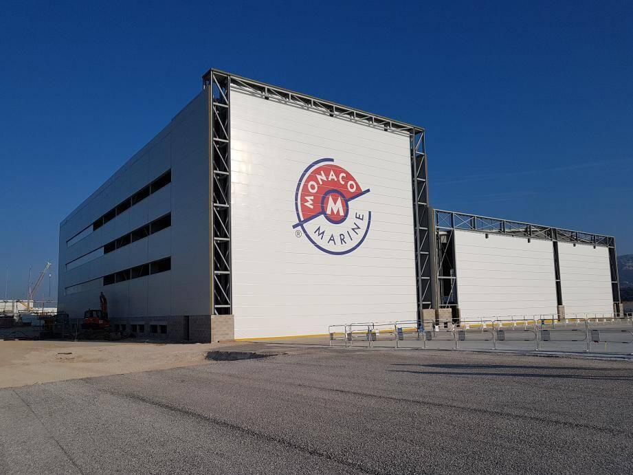 Le site de La Seyne-Toulon, qui pourra accueillir jusqu'à 28 yachts en même temps, ouvrira ses portes le 1er novembre. Il s'agira de l'un des plus grands sites dédié à l'entretien des yachts de 50 mètres en Europe.(DR)