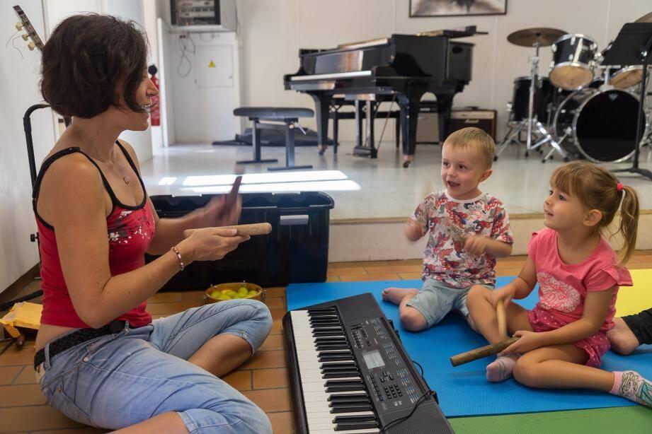 Les bambins se cultivent au jardin musical. (DR)