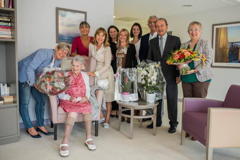 Yvonne Imbert a fêté ses 104 printemps.