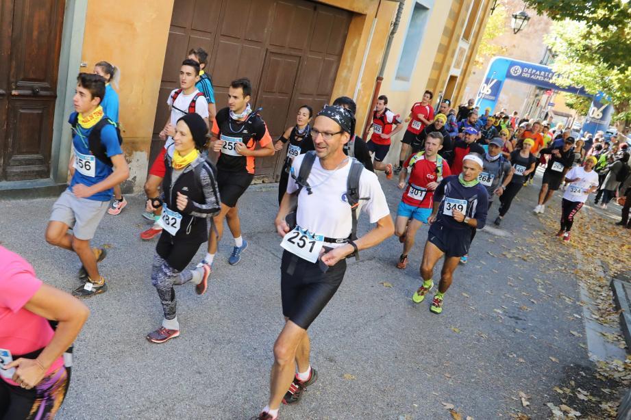 Le tracé des parcours 2018 du trail a pris en compte les retours des participants des éditions précédentes.