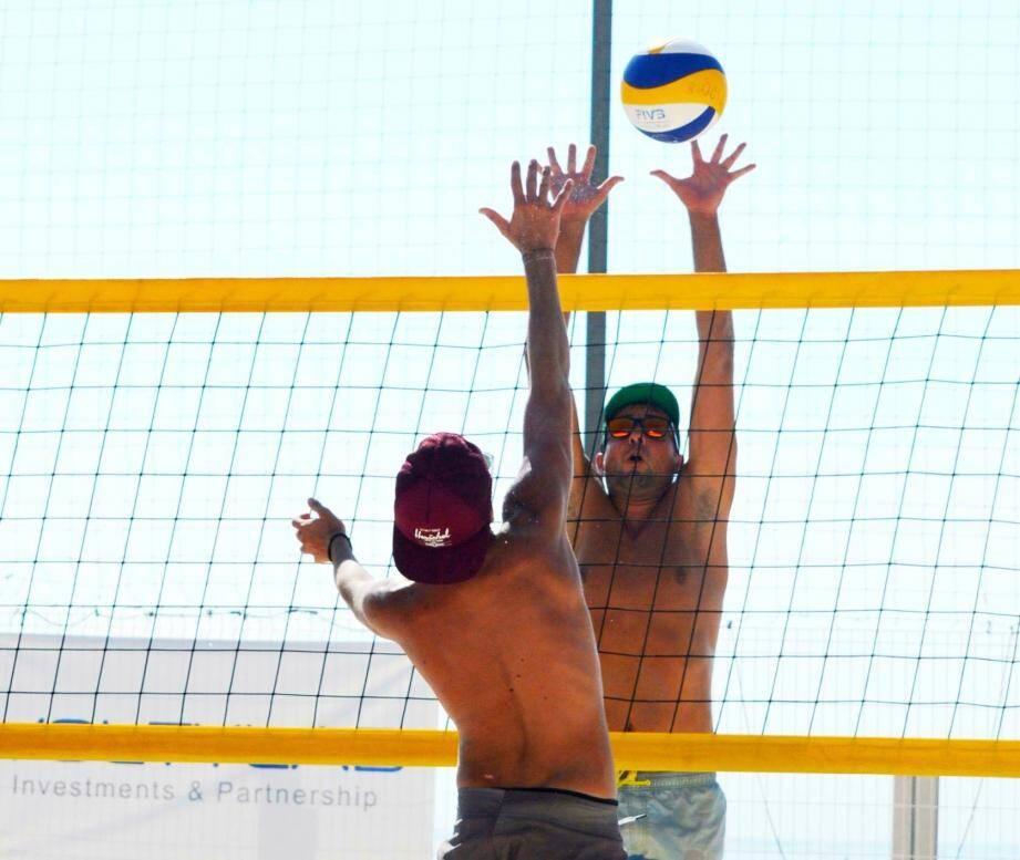 Un tournoi par mois sera programmé sur la plage du Larvotto.