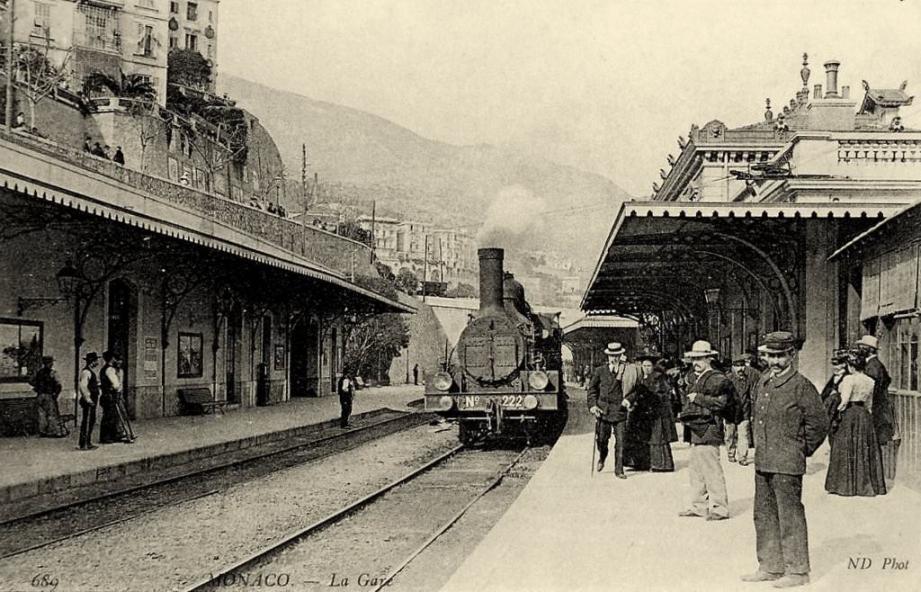 L'ancienne gare de Monaco(DR)