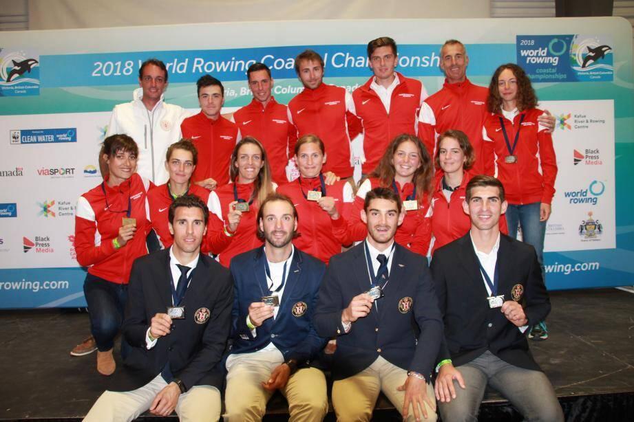 Les Monégasques reviennent médaillés des Mondiaux d'aviron de mer, qui se sont déroulés au Canada.