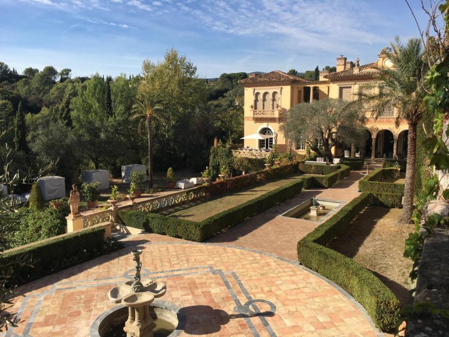 L'affaire de ce palais à Grasse a connu de multiples rebondissements.