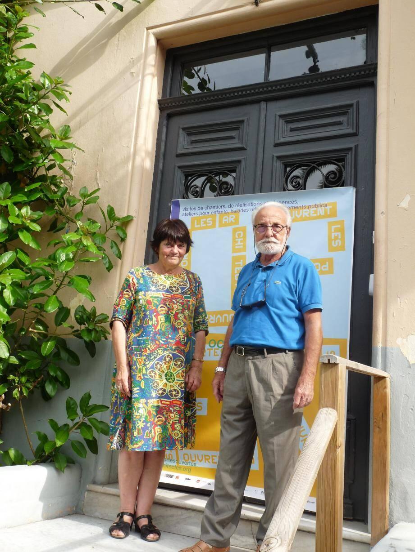 Françoise Berthelot et René Dalmasso, architectes mentonnais, proposent de faire découvrir leur métier, samedi à l'Hôtel Lemon.