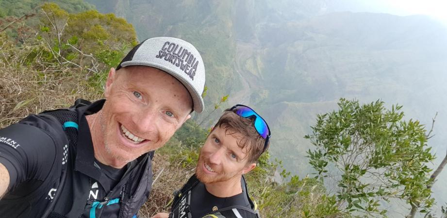 Sébastien et Sylvain Camus ont pris leurs marques sur l'île de La Réunion.(DR)
