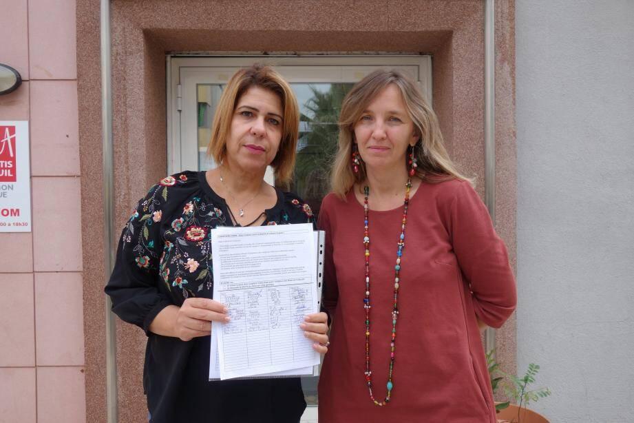 Aoutaef Dridi et Emmanuelle Cantoni recueillent déjà de nombreux signataires.
