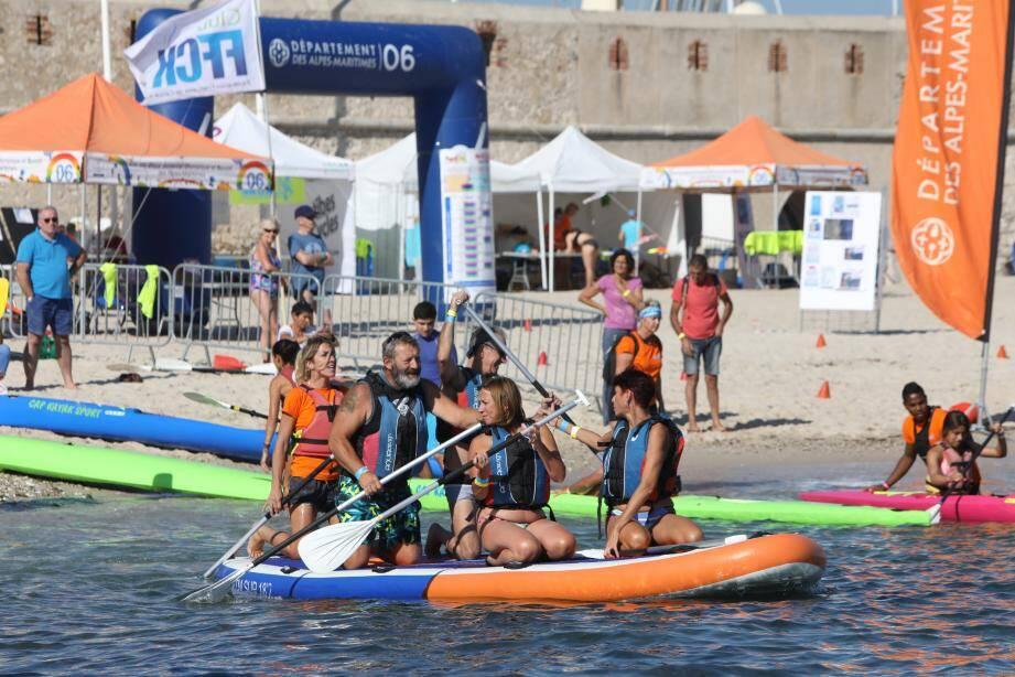 La plage de La Gravette a servi de cadre au Festi'Pal le week-end dernier. Nos lecteurs s'étonnent qu'on puisse ainsi les priver d'un espace public pour accueillir une telle manifestation.